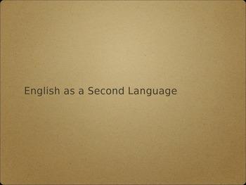 ESL Professional Development Presentation
