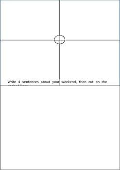 ESL Puzzle Game - Blank (No Illustrations).