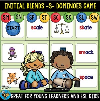 ESL RESOURCES: Blends -S- Domino Game