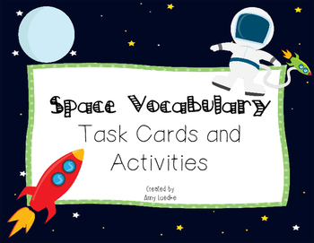 ESL Space Vocabulary Games & Activities