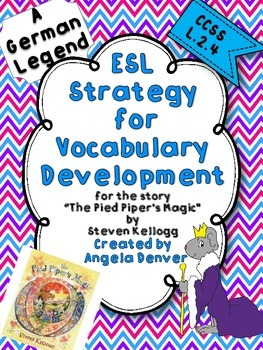 ESL Strategy for Vocabulary Development for The Pied Piper