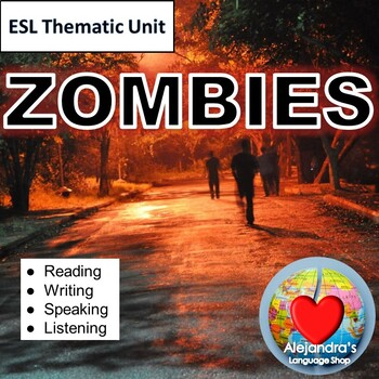 ESL Test Prep:  Two People Talk About Zombies