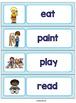 ESL Word Walls: 57 Basic Verbs