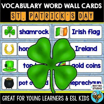 ESL Word Walls: St. Patrick's Day