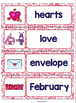 ESL Word Walls: Valentine's Day