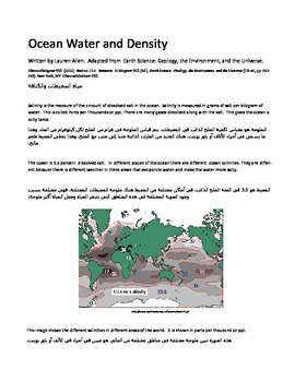 ESL\ Arabic and SPED format chapter on Salinity and Seawater