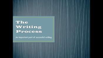 ESL for Adults - The Writing Process for Beginners