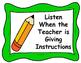 ESOL Classroom Rules
