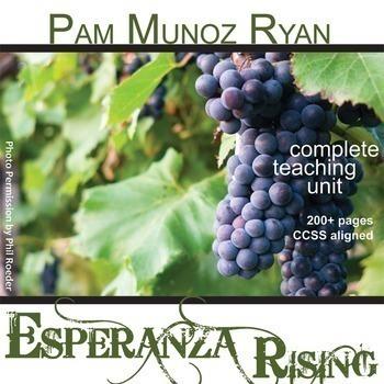 Esperanza Rising Unit Novel Study - Literature Guide