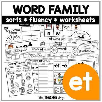 ET Word Family Activities