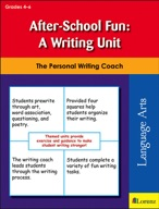 After-School Fun: A Writing Unit