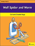Wolf Spider and Worm