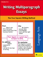 Writing Multiparagraph Essays