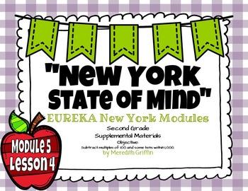 EUREKA MATH 2nd Grade Module 5 Lesson 4  PowerPoint Slideshow