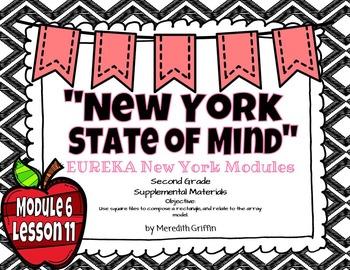 EUREKA MATH 2nd Grade Module 6 Lesson 11 Slideshow Arrays