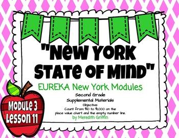 EUREKA MATH 2nd Grade Module 3 Lesson 11  Place Value 2015
