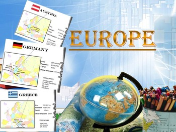 Europe - Countries - Maps - Cards - Italy - France - Germa