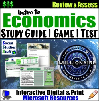 EVALUATE- Introduction to Economics End Of Unit Materials