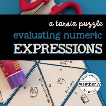 EVALUATING EXPRESSIONS numeric - order of operations - a T