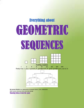 EVERYTHING ABOUT GEOMETRIC SEQUENCES