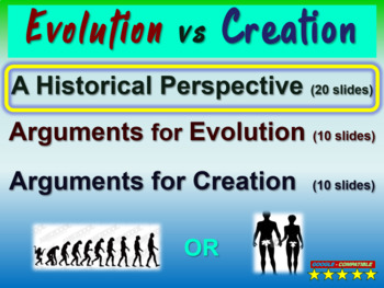 EVOLUTION VS CREATION (PART 1: HISTORICAL PERSPECTIVE) eng