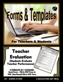 "EXCEL TEMPLATE & WORD FORM ""Student Evaluation of Teacher"