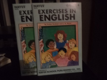 EXERCISES IN ENGLISH      (SET OF 2)  GRADE 4