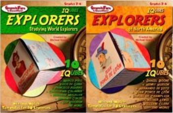 EXPLORERS BUNDLE: IQubes—World Explorers and Explorers of