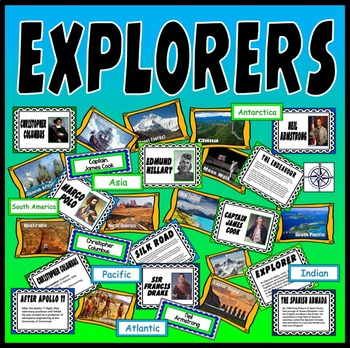 EXPLORERS TEACHING RESOURCES HISTORY GEOGRAPHY key stage 2