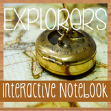 EXPLORERS of North America -Social Studies Notebooking- Wi