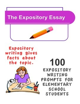 EXPOSITORY WRITING PROMPTS FOR ELEMENTARY SCHOOL STUDENTS