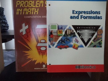 EXPRESSIONS - FORMULAS  PROBLEM SOLVIN MATH  (SET OF 2)