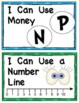 {EXTRA SET of 8} Kindergarten Common Core Number Strategy Posters