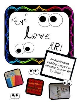 """EYE love AR"" Googly Eye Incentive Program"