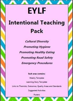 EYLF Intentional Teaching Pack
