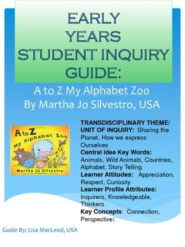EYP Student Guide for A to Z My Alphabet Zoo