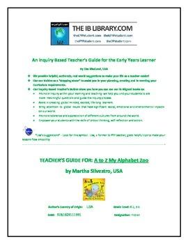 EYP Teacher Guide for A to Z My Alphabet Zoo