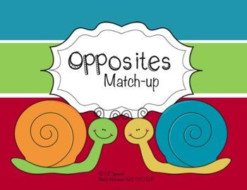 EZ Speech Opposites Match-up