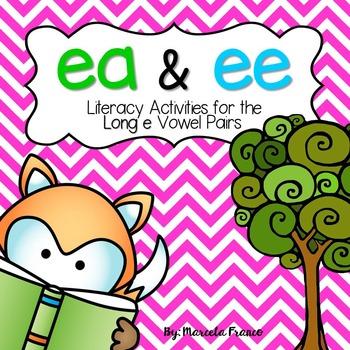 Ea and Ee Vowel Pairs Literacy Resource