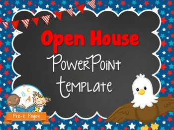 Eagle Theme Open House ~ Back-to-School ~ PowerPoint Templ