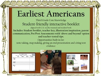 Earliest Americans Third Grade Core Knowledge Bundle with