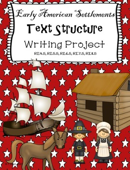 Early American Settlements Informational Text Structure Pr