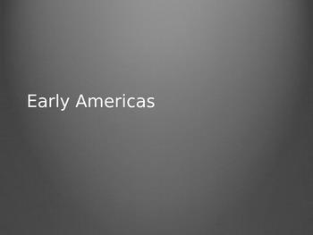 Early Americas - Olmec and Chavin