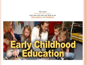 Early Childhood Education A Unit 1 Day 1 power point Cente
