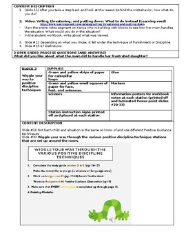 Early Childhood Education A Unit 1 Day 5 lesson plan Posit