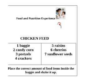 Early Childhood Education A Unit 2 day 8 power point Food