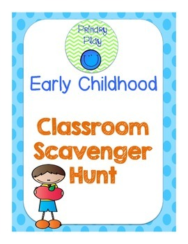 Early Childhood Scavenger Hunt