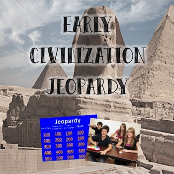Early Civilization Jeopardy