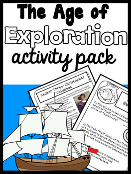 The Explorers: An Age of Exploration Mini-Unit including 1