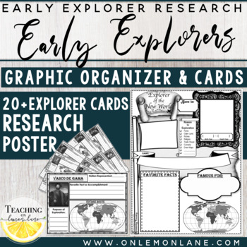 Early Explorer Report Graphic Organizer